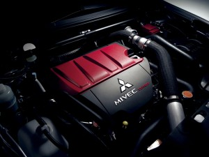 2011-Mitsubishi-Lancer-Evo-X-Review-Engine