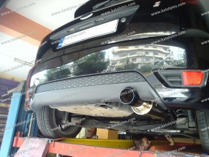 ford fiesta exhaust